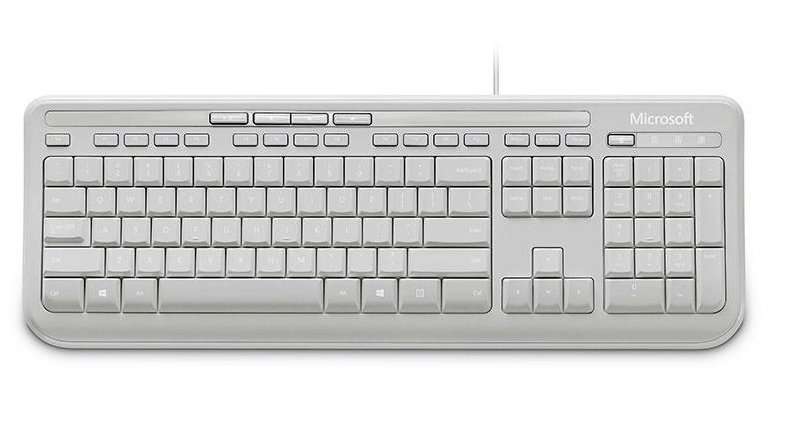 MICROSOFT ANB-00028 WIRED KEYBOARD 600, DE USB WHITE